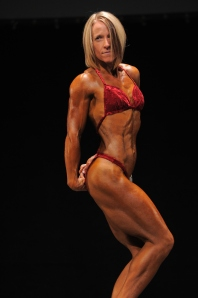 June 8th 2013 Women's Master's bodybuilding 2nd place